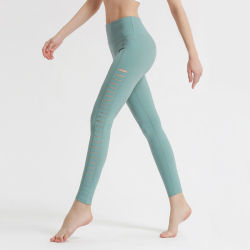 Popular Style Sexy Sports Yoga Pants Side Cutout Yoga Wear