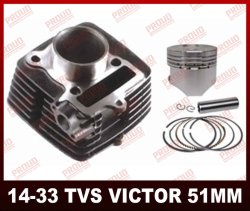 Tvs100 Start Victor Sport Cylinder Kit China OEM Quality Motorcycle Parts