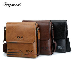 Men s Leather Leisure Laptop Blocking Secure Briefcase Shoulder Messenger  Bags d8019cc14d