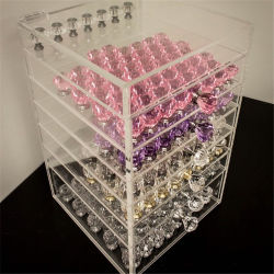 Clear Acrylic Drawer Unit to Create Useful Storage