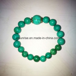 Semi Precious Stone Fashion Turquoise Beaded Bracelet