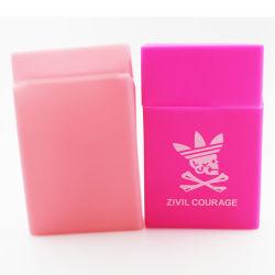 Wholesale Customized Designs Tobacco Pack Cover Holder Box Silicone Cigarette Case