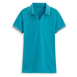 Wholesale Plain Women Fitness Sport Polo Shirt