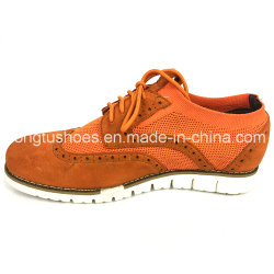 Flyknit Suede Lightweight EVA Outsole for Leisure Knitted Canvas Shoes