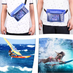 Waist Bag Waterproof PVC Dry Bag for Swimming Boating Fishing