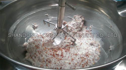 China Factory Price Stainless Steel Industrial Electric Chili Caramel Sauce and Bean Paste Cooking Mixer Machine Cooking Equipment with Jacketed Kettle