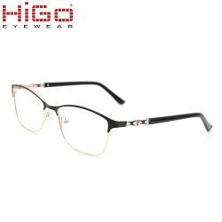 842484b89c5d Luxury Higo Prescription Frame Eyeglasses Stainless Steel Mens Womens Fancy Eye  Glasses