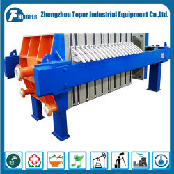 Hydraulic Vertical Automatic Rotary Drum Filter Press Equipment