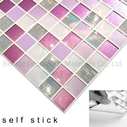 3D PVC Self-Adhesive Wall Sticker Tile/Panel China Manufacture for Bathroom, Kitchen DIY Refurbishment