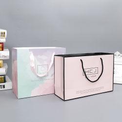 Custom Logo Printing Paper Shopping Bags for Clothing Carrier Gift Bag Manufacturer