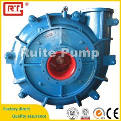 Ah Heavy Duty Industrial Centrifugal Vertical Horizontal Mining Mineral Processing Metal Rubber Abrasion Wear-Resisting Chrome Water Sand Mud Slurry Pump