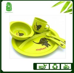 High Quality Bamboo Fibre Children Dinnerware (BC-BB-SU2001)  sc 1 st  Made-in-China.com : bamboo dinnerware - pezcame.com