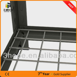 Warehouse Slotted Angle Household Storage Light Duty Rack Factory Supplier, High Quality Warehouse or Industry in China, Bolt and Nut Angle Shelf
