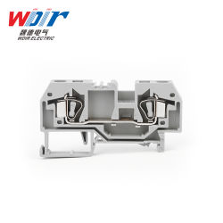 Connector Auto Part Hardware Spring Terminal Block Customized 6mm Wire 2-Ways