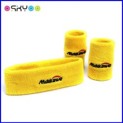 Customize Logo Sports Protection Terry Cotton Wrist Sweatbands