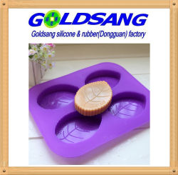 Leaf Shaped Silicone Mould Silicone Rubber Soap Mold