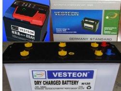 Korean Brand Car Battery Atlas, Delkor, Rocket