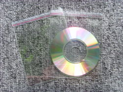 Wholesale Good Price CD DVD OPP Bag