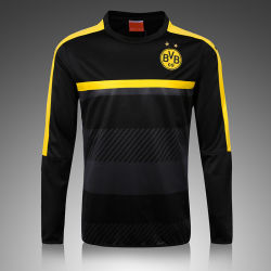 Male Anti-Static, Windproof Solid Long Sleeved Football Training Sports Suit
