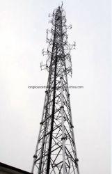 3-Legged Steel Communication Pipe Tower