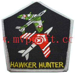 High Quality Cotton Fabric Woven Embroidery Patch