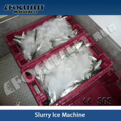 Slush Ice Machine for Fish and Meat Processing