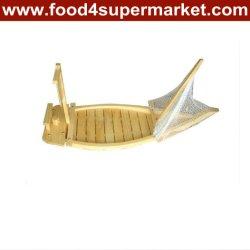 Bamboo & Wood Sushi Boat 90cm