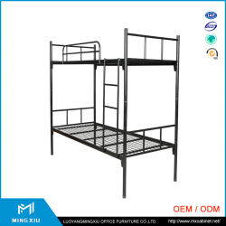 China Mingxiu Low Price Cheap Adult Bunk Beds / Metal Double Bunk Bed