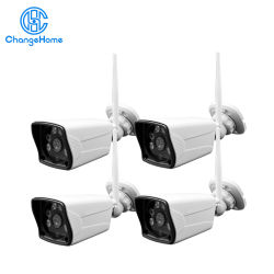 Factory Price 1.0MP WiFi Security Camera System Wireless CCTV Camera Kit
