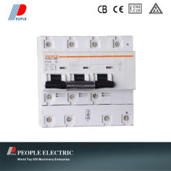 MCB for Meter with Remote Control Rdb2-125s 3p+N