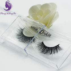 Hot Sale Handmade Mink 3D Lashes Natural Mink Eyelash (EL35)