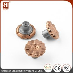 Wholesale Alloy Round Metal Brass Snap Button