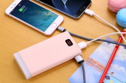 [Kingmaster] (factory) 10000mAh Portable Charger Power Bank LED Light with Digal Display