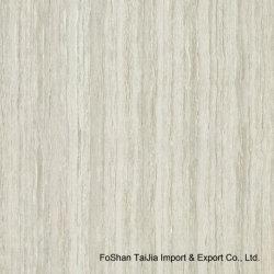 Building Material Gray Line Stone Polished Porcelain Floor Tile (TJ6304)