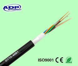 GYTA Aluminum Tape Armored 48 Core 24 Core Single Mode Communication Fiber Cable