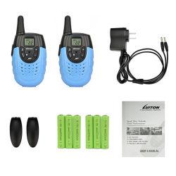 PMR446 Radio 14CH Walkie Talkie FM Scan Monitor Emergency Alarm Flashlight Function Two Way Radio