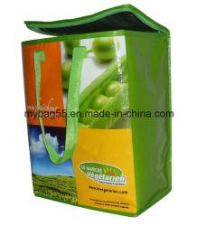 Cmyk Printing BOPP Lamination PP Woven Picnic Bag