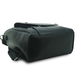 Fashion PU Leather Laptop Sport Bag Backpack for Men