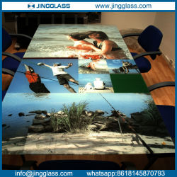 Wholesale Stained Color Art Decorative Ceramic Frit Digital Printing Glass Cheap