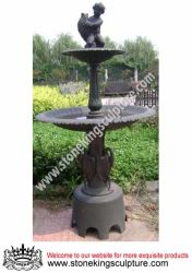 Cast Iron Water Pool Fountain Sk 7401