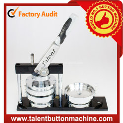Easy Operation Button Badge Making Machine Button Maker with Interchangeable Molds (SDHP-N4)
