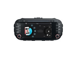 Double DIN Car DVD for KIA Soul with Raido Audio GPS Navigation Multimedia