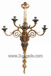 Gilded Bronze Candelabra (JGB39-1A)