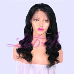 Lab Factory Natural Color Body Wave Peruvian Human Hair Wig