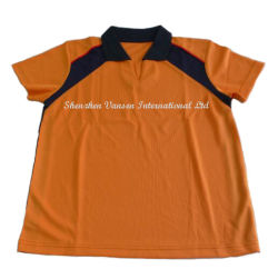 School Uniform/Sportswear/Dry-Fit Polo Shirt for Kids