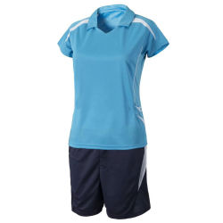 OEM Wholesale V-Neck Short Sleeve Volleyball Garment