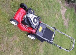 Gasoline Lawn Machine Four Stroke 20 Inch Manual Push Button Self Propelled Lawn Mower Grass Cutter
