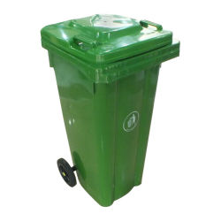 240L Wholesale Outdoor Plastic Garbage Bin with Wheels