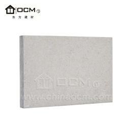 Factory Direct Sale Fireproof Fiber Cement Wall Sheet