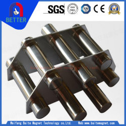 2018 ISO/Ce Certificate Stainless Steel Pipeline Hopper Magnet/Magnet Grate with Circular/Square Type